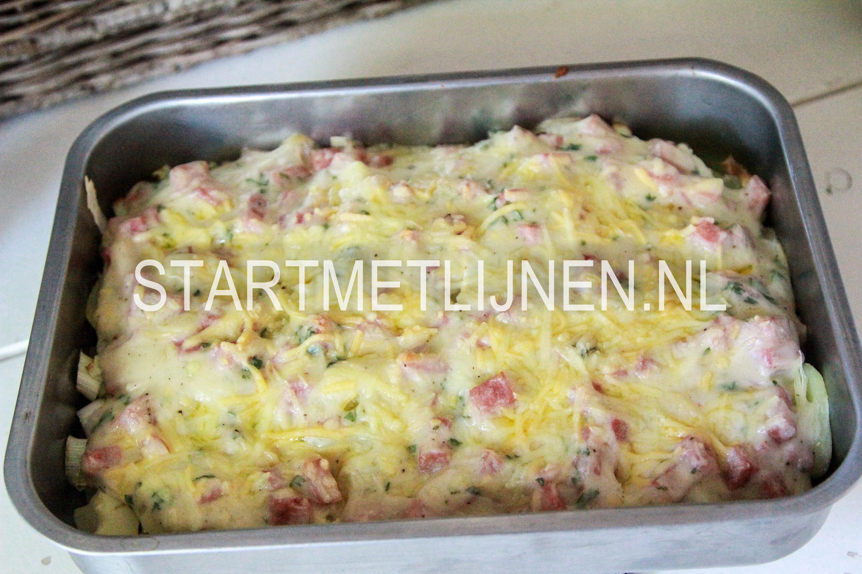 aardappel anders ovenschotel met gehakt